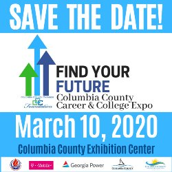 Find your Future at the Columbia County Career and College Expo Tuesday, March 10, 2020